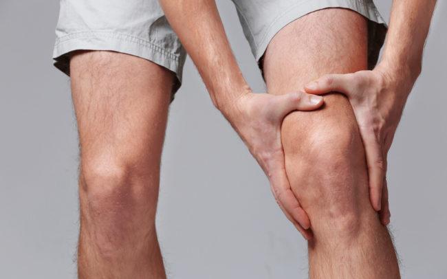 Deshacerse del dolor dentro de la rodilla