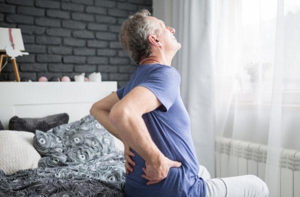 Dolor de espalda matutino
