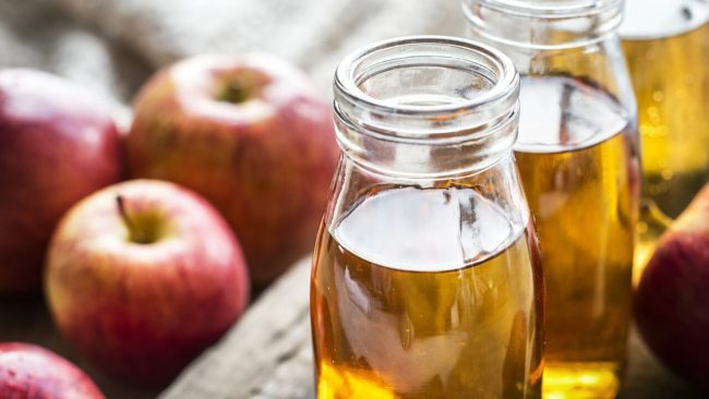 Errores de vinagre de sidra de manzana