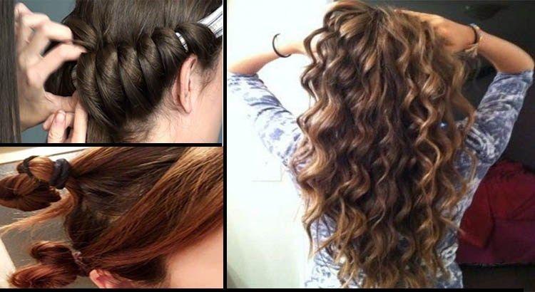 Rízate el cabello sin rizador