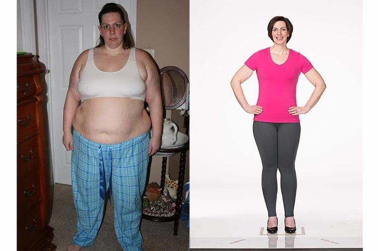 Transformaciones inspiradoras para la pérdida de peso