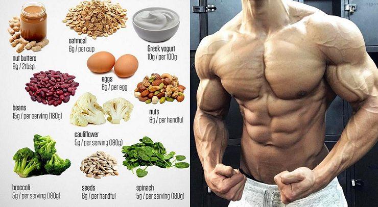 alimentos para la dieta de pérdida de grasa y ganancia muscular