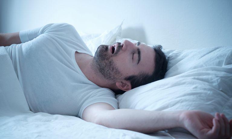 deja de respirar por la boca cuando duermes