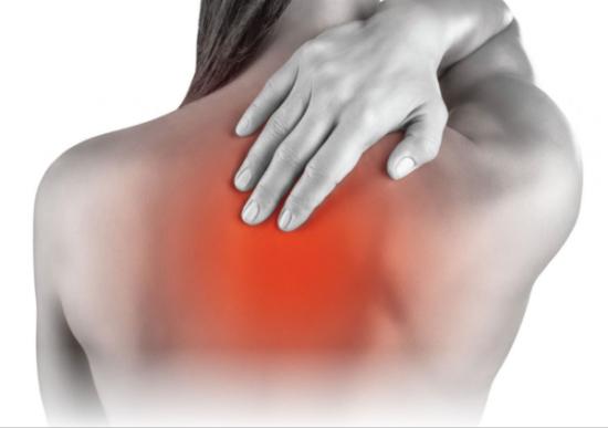 dolor de espalda superior