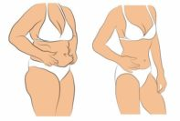 reducir la grasa del vientre después del embarazo
