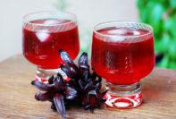 té de hibisco para piel y cabello